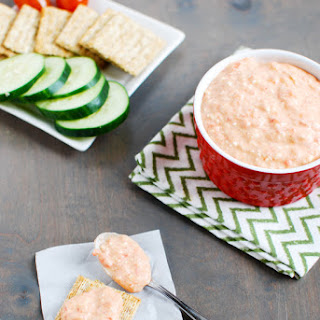 Spicy Red Pepper Feta Dip
