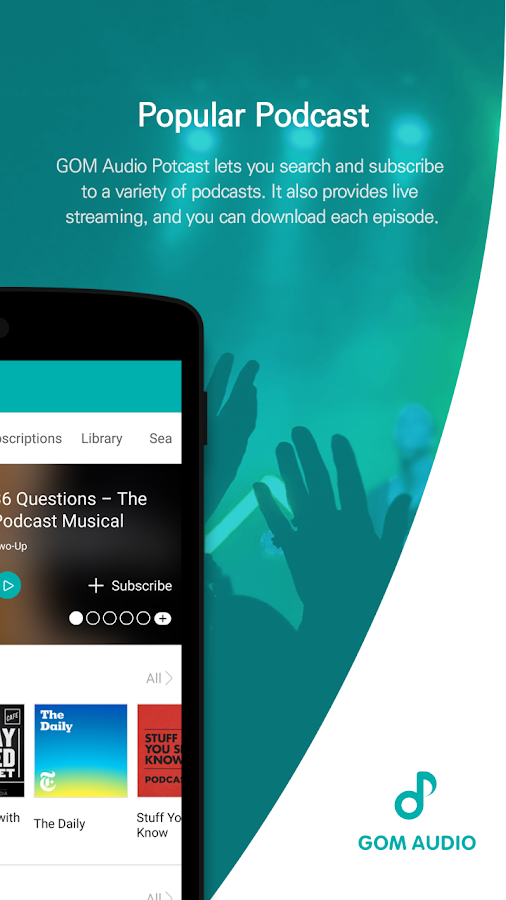 GOM Audio Plus - Music, Sync lyrics, Streaming- screenshot