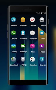 Theme for Nokia E6-00 - náhled