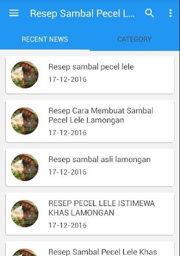 Resep Sambal Pecel Lele