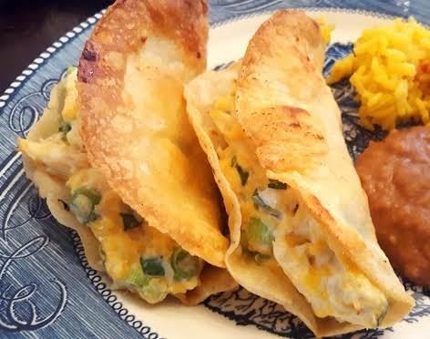 Cream Cheese Chicken Tacos