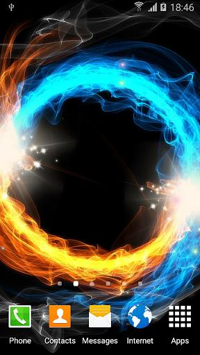 Fire & Ice Live Wallpaper Screenshot