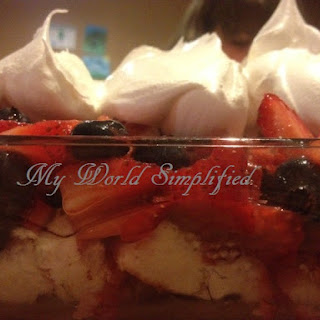 Red, White, and Berries Recipe
