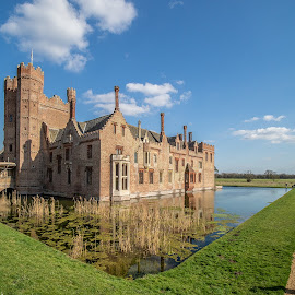 Oxburgh Hall by Kevin Davis - Buildings & Architecture Public & Historical ( oxborough, moat, stately home, royal, national trust )