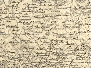 Photo: Mapa Prazke arcidieceze z 1.pol 19.stol. Kramsky uprostred. http://archivnimapy.cuzk.cz/cio/data/sbirka_I/I-1-048/I-1-048_icon.jpg