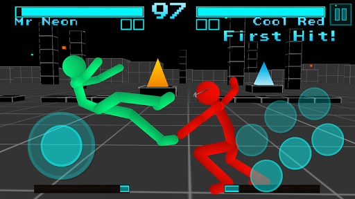 Stickman Fighting: Neon Warriors 1.05 screenshots 11
