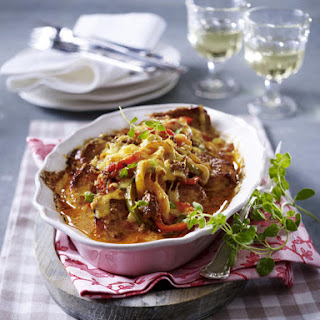 Pork Chops with Bolognese Sauce (Lactose-Free).
