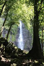 Photo: Waterfall, Tahiti