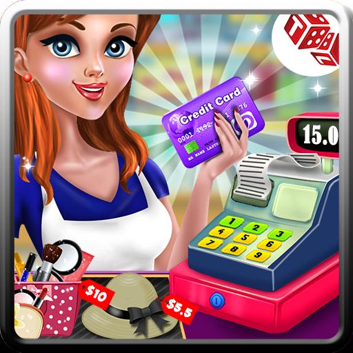 Shopping Mall Cashier Girl - Cash Register Games