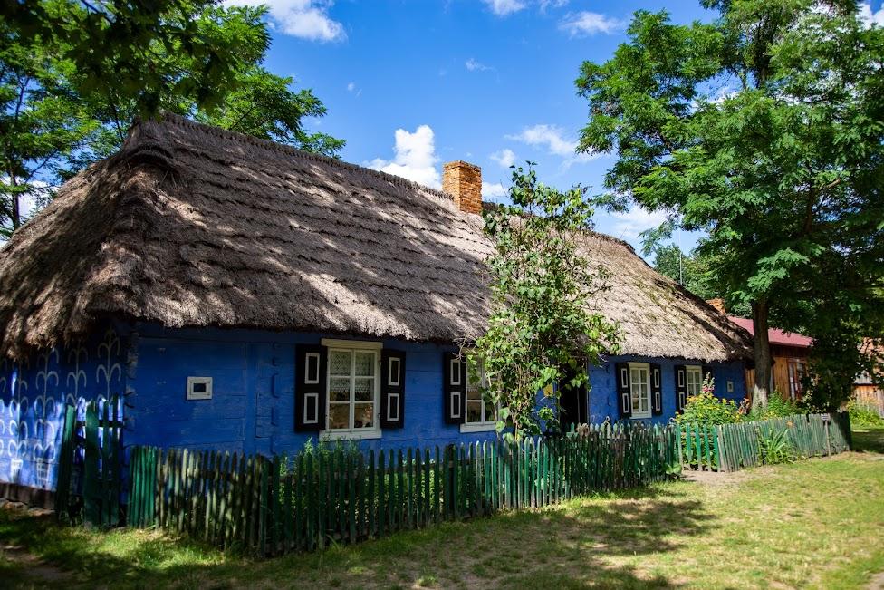 Skansen w Maurzycach, chata