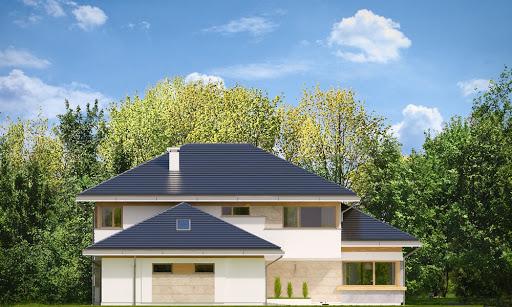 Dom z widokiem 4 - Elewacja lewa