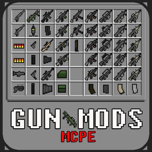Gun Mods For MCPE 娛樂 LOGO-玩APPs