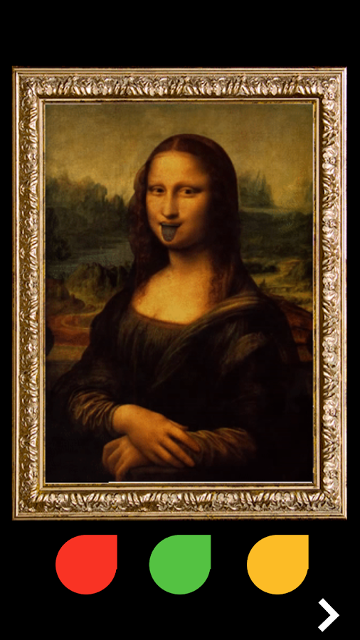 LivArt - ένα διαδραστικό μουσείο Mona Lisa Alive - στιγμιότυπο οθόνης