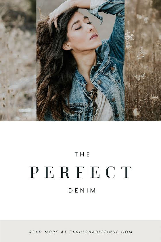 The Perfect Denim - Pinterest Pin Template