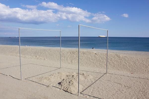Preparativi dei giochi estivi di Naldina Fornasari