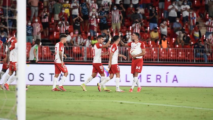 El Almería busca celebrar una nueva victoria, ahora fuera de casa.