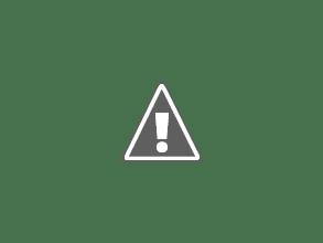 Photo: Louis Vuitton bag- $35 cute blue denim striped print w/suede-like inside and extra outside zipper