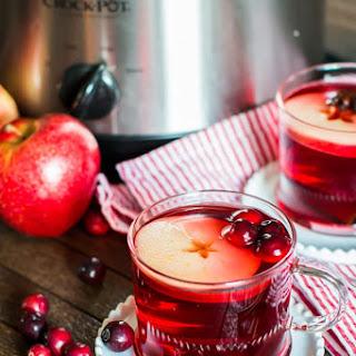 Slow Cooker Cranberry Apple Cider.