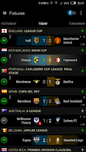 Live Scores Soccer Center 1