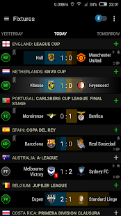 Live Scores Soccer Center - náhled