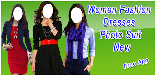 Приложения в Google Play – <b>Women Fashion Dresses</b> Photo Suit ...