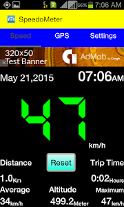 SpeedoMeter screenshot 0
