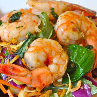 Paleo Shrimp Salad.