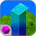 Cube Stack Tower 3D icon