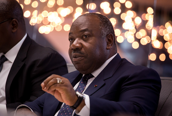 Ali Bongo. Picture: GETTY IMAGES/ BLOOMBERG/ MICHAEL NAGLE