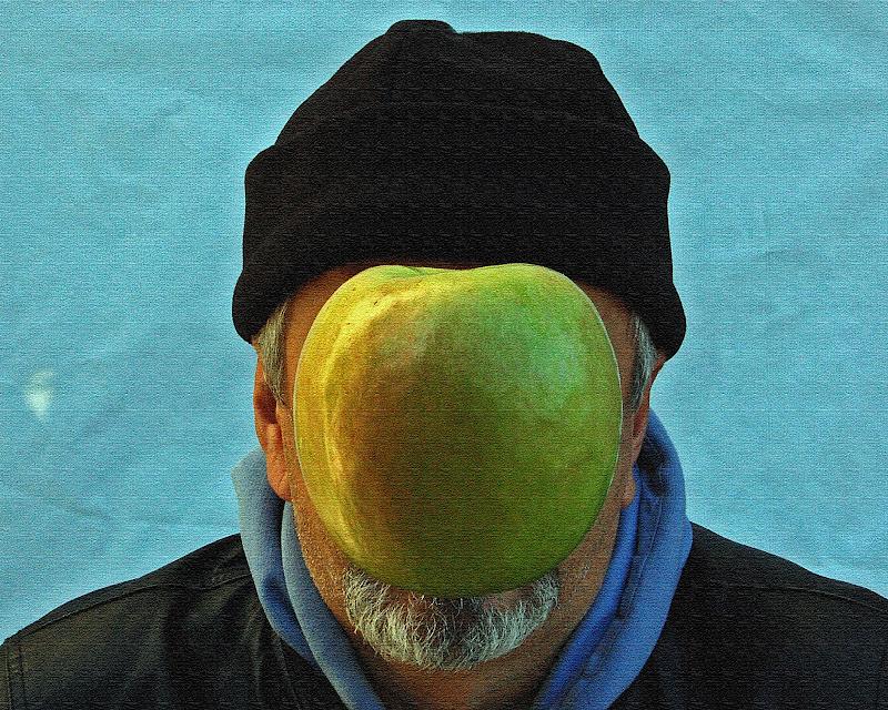 illusionismo onirico, chiedo scusa Magritte... ...autoritratto. di kaos