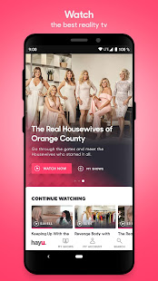hayu - watch & download reality TV shows on demand - Apps on