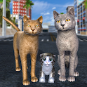 Cat Family Simulator: Stray Cute Kitty Game icon