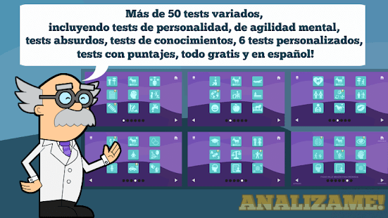 Analizame!  (Tests Divertidos)- screenshot thumbnail