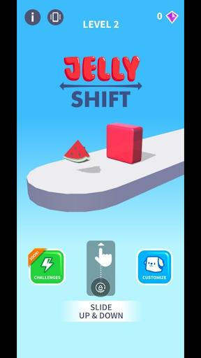 Jelly shift : shape the jelly screenshot 1