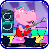 Kids music party: Hippo Super star