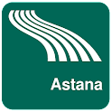 Astana Map offline icon