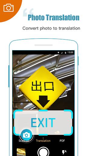 Screenshot for Translator Foto Scan - Translator & File Scanner in Hong Kong Play Store