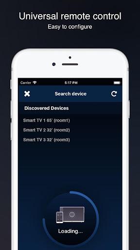 Universal remote control for smart TVs screenshot 3