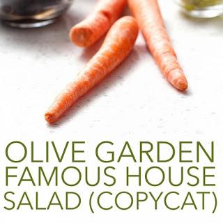 Olive Garden's Famous House Salad Copycat.