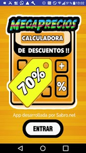 Megaprecios Calcula Descuentos- screenshot thumbnail