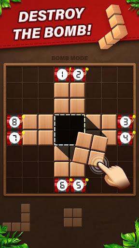 Fill Wooden Block 8x8: Wood Block Puzzle Classic  screenshots 3