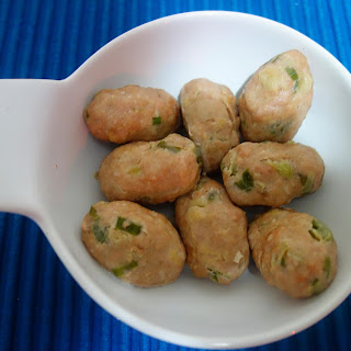 Chinese Steamed Chicken Balls