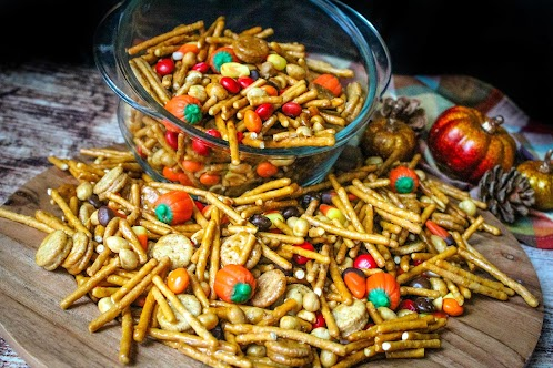 Trick or Treat Trail Mix