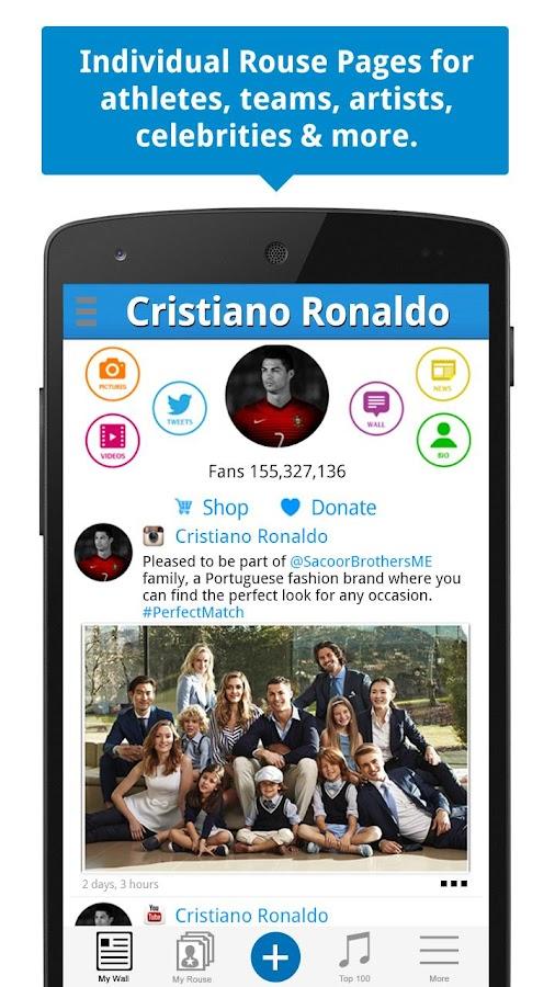 Rouse Social - screenshot