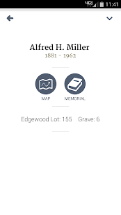 Diocese of Rockford Cemeteries- screenshot thumbnail