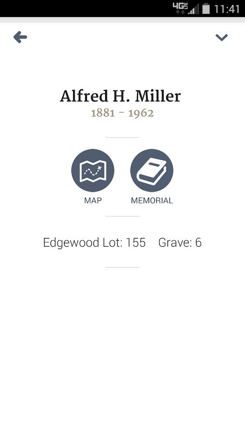 Diocese of Rockford Cemeteries- screenshot