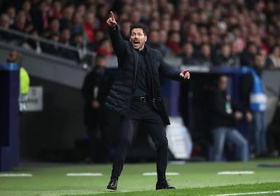 Diego Simeone estime que les supporters ont joué un rôle important