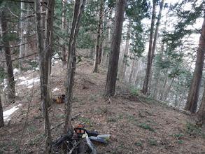 林業作業者の荷物