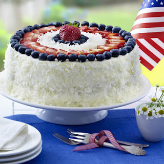 Berry Coconut Cake