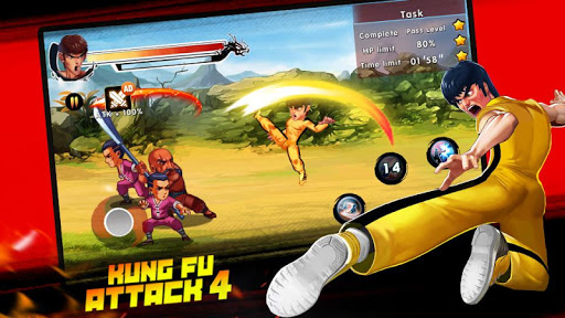 Kung Fu Attack 4 - Shadow Legends Fight 1.0.9.101 screenshots 1
